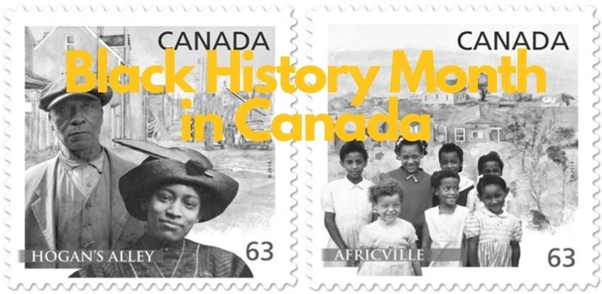 Banner for Black History Month in Canada