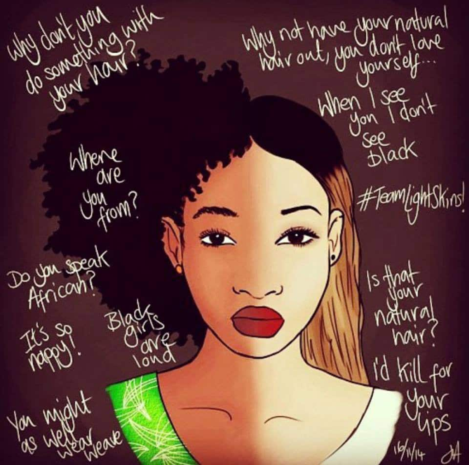 living as a light skinned black woman in Canada